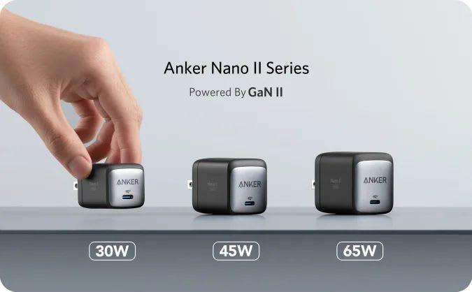 Anker GaN II chargers
