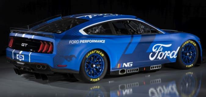 2022 Ford Mustang NASCAR 'Next Gen' car