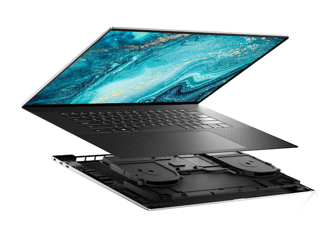Dell XPS 17 9000 Series (Model 9710) touch notebook computer, codename Stradale TGL MLK