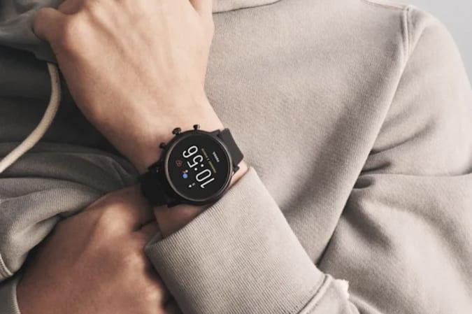 Fossil Wear OS watch