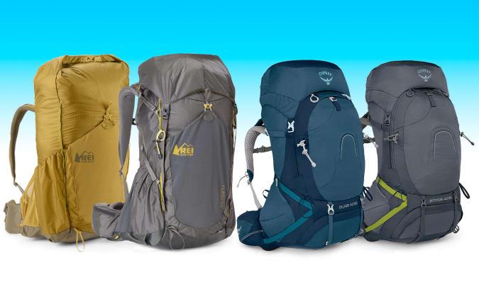 Osprey / REI backpacks