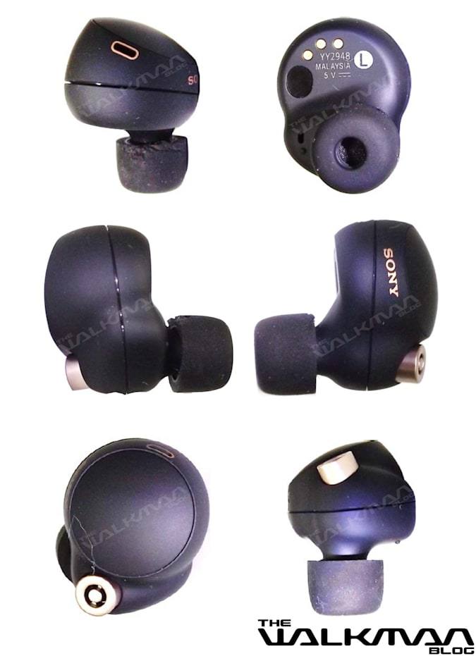 Sony WF-1000XM4 true wireless earbuds leak
