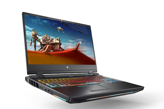 Promotional image of Acer's Predator Helios 500