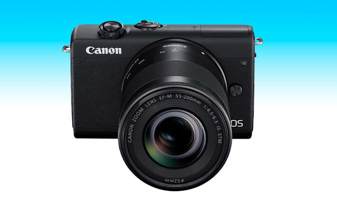 An article from the 2021 Engadget Father's Day gift guide: Canon EOS M200