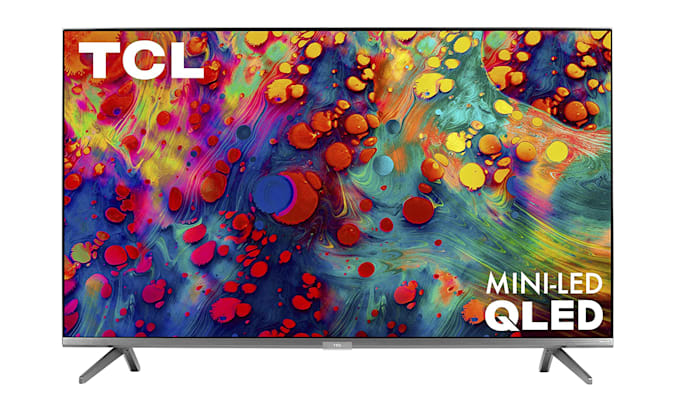 An entry on the Engadget 2021 Father's Day Home Entertainment gift guide: TCL 6-Series 4K TV