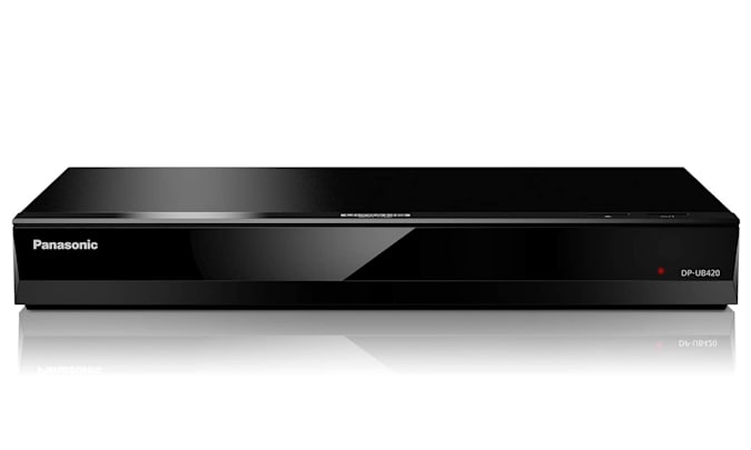 An entry on the Engadget 2021 Father's Day Home Entertainment gift guide: Panasonic UB420 Blu-ray player