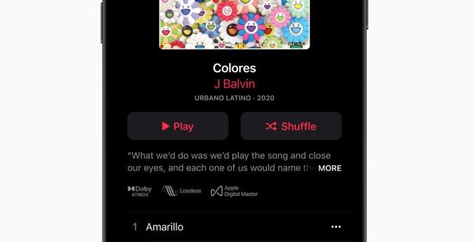 Apple Music lossless / Atmos