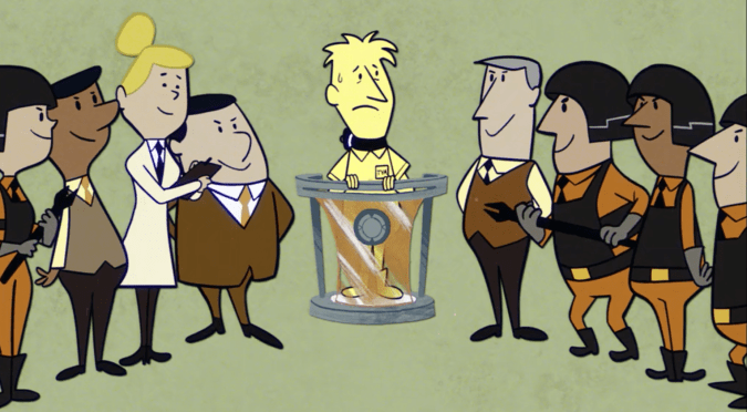 Time Variance Authority cartoon