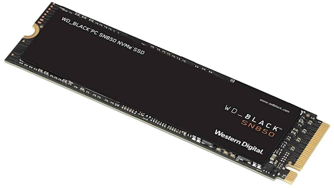 WD Black built-in solid state drive