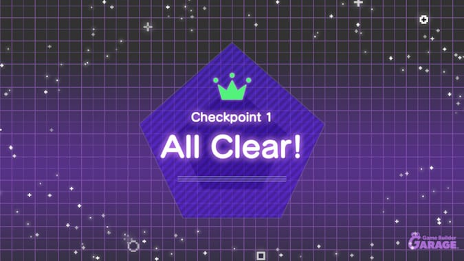 Checkpoint 1-Clear all!