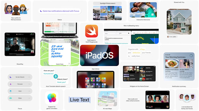 iPadOS 15