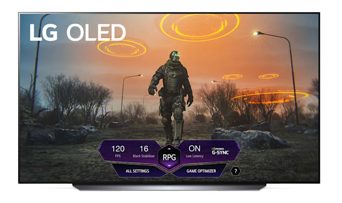 LG's latest OLED TVs are ready for 120Hz Dolby Vision gaming