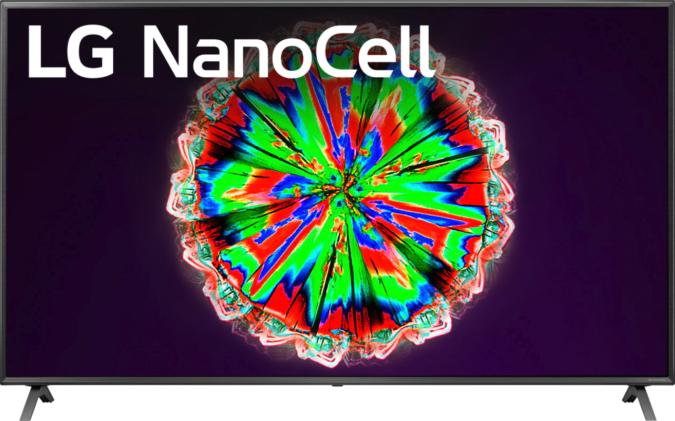 LG NanoCell 80 Series smart TV