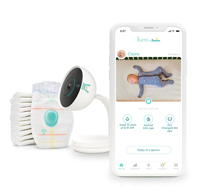 Pampers Lumi system