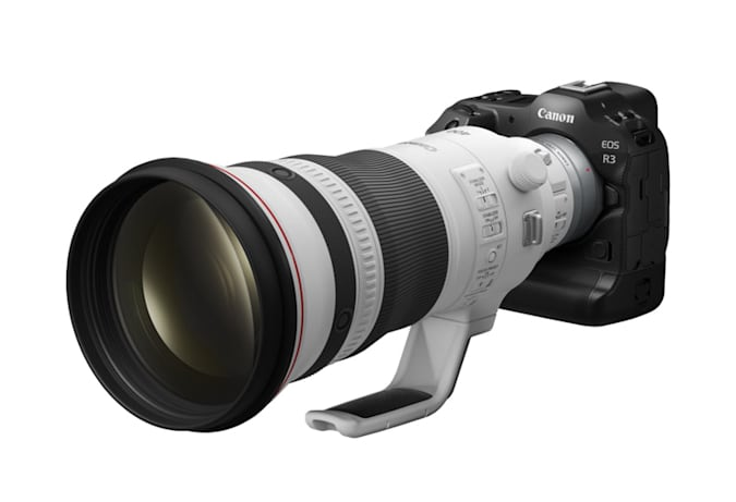 Canon's EOS R3 will offer AF tracking for race cars