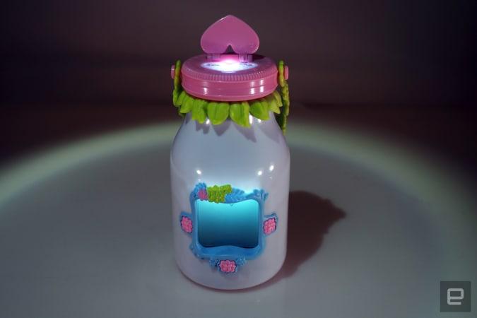 Open fairy jar
