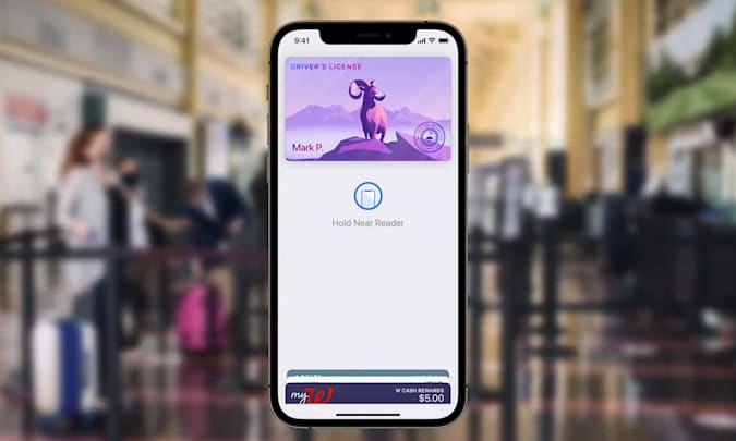 Apple Wallet driver's license