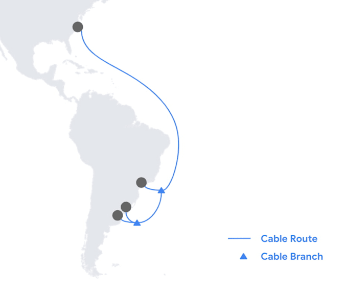 Google Firmina subsea cable