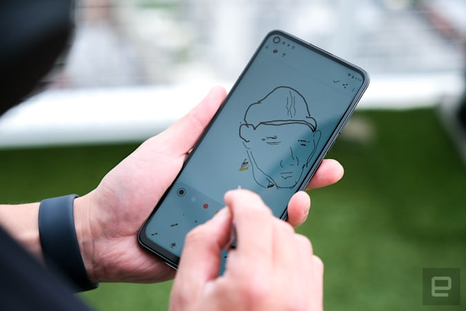 Moto G Stylus 5G hands-on