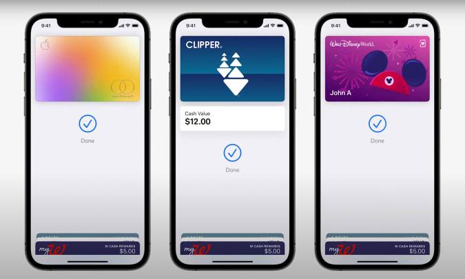 Apple Wallet Cards