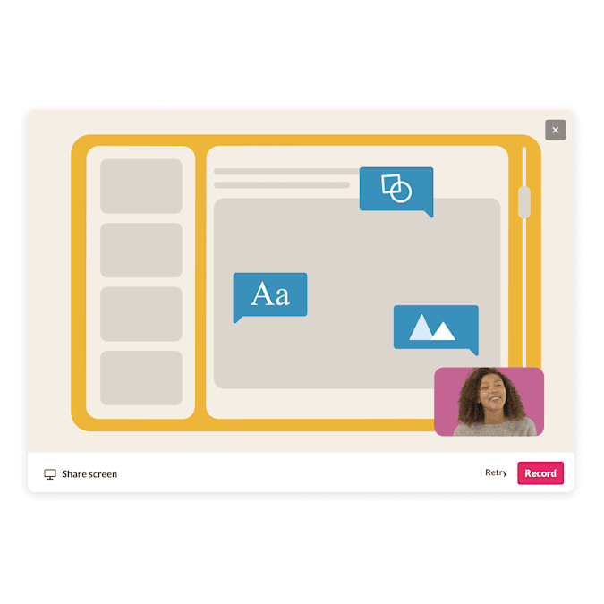 Slack created native video and screen recording tools with searchable transcripts.