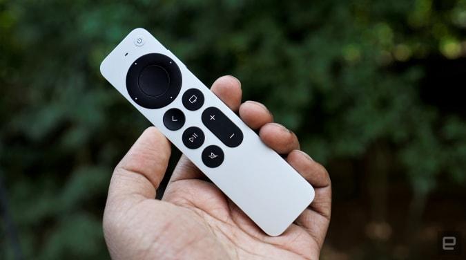 Mando a distancia Siri 4K TV 2021 de Apple