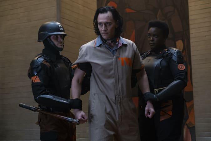 Tom Hiddleston as Loki, Wunmi Mosaku as Agent B-15