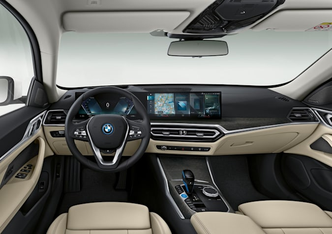 BMW's i4 arrives next year starting at $55,400