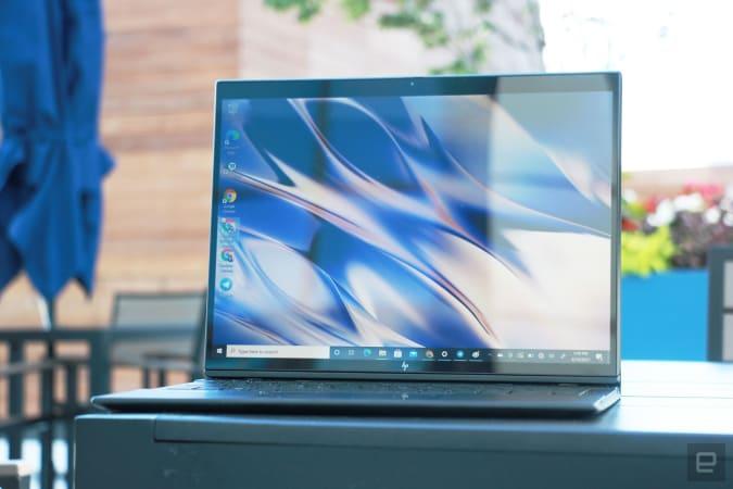 HP Elite Folio Engadget review photo: