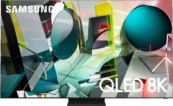 75-inch Samsung Q900TS 8K TV