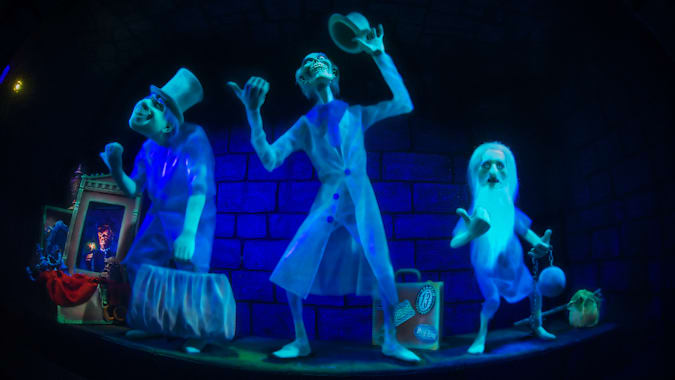 Ghost hitchhikers in the Haunted Mansion
