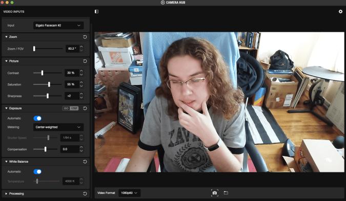 Elgato Camera Hub, hey look it's me