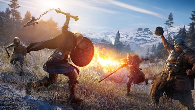 'Assassin's Creed Valhalla' field fight
