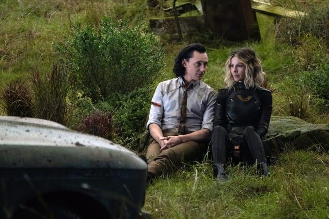 Tom Hiddleston and Sophia Di Martino