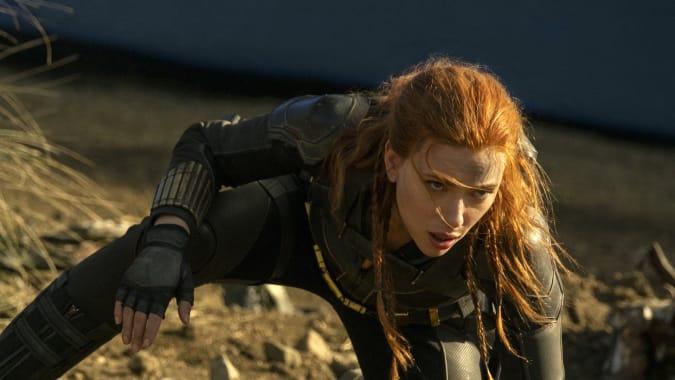 Scarlett Johansson in Marvel movie 'Black Widow'