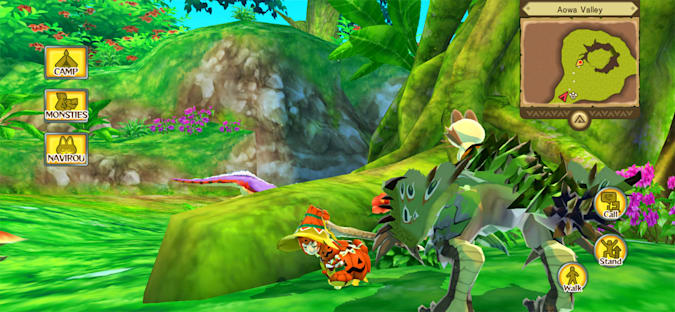 'Monster Hunter Stories' from Apple Arcade on iPhone