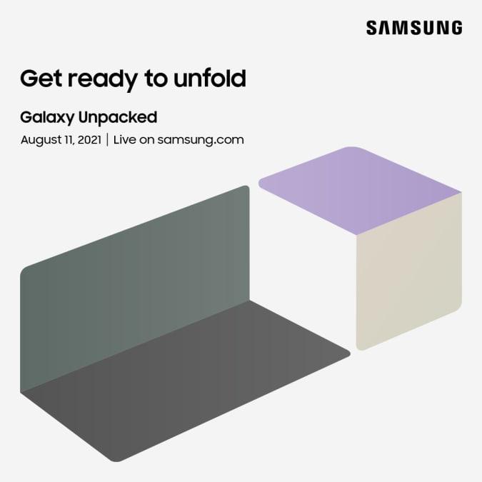 Convite Samsung