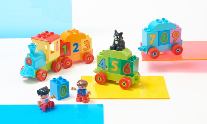 Lego Duplo My First Number Train for Engadget's 2021 Back to School guide.