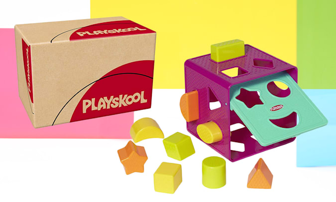 Playskool Shape Sorter for Engadget's 2021 Back to School guide.
