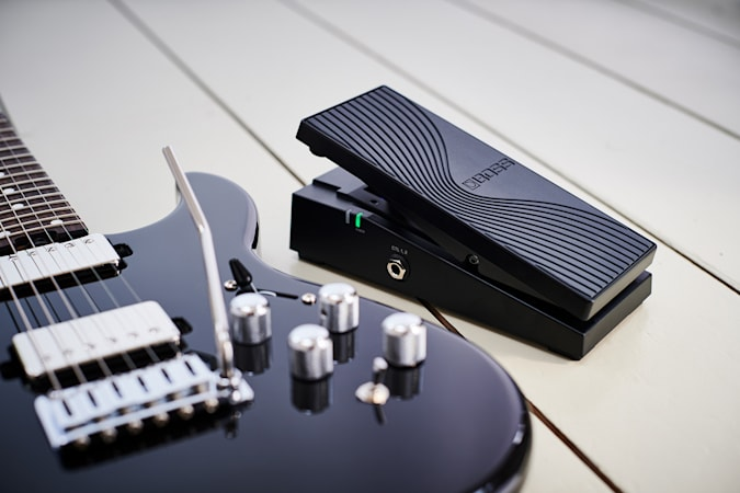 Boss's latest guitar has a built-in synth and Bluetooth pedal control