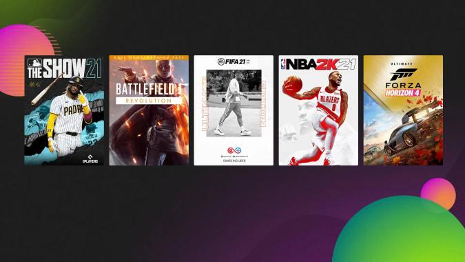 Promoção de jogos Xbox Ultimate