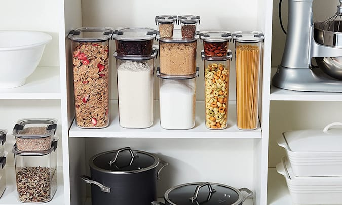 Rubbermaid food storage for Engadget's 2021 Back to School guide.