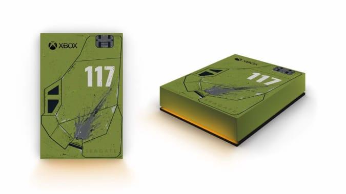 Halo Infinite Special Edition Seagate Game Drive for Xbox