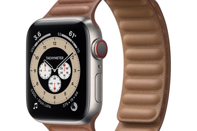 Apple Watch Edition Series 6 in titanium
