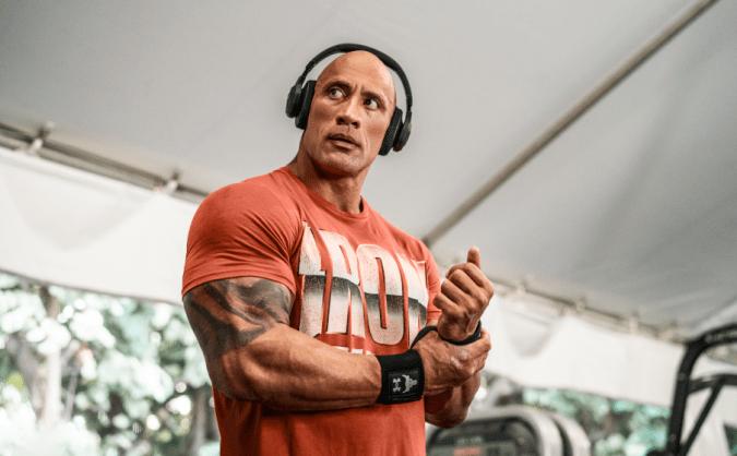UA Project Rock Over-Ear Training headphones