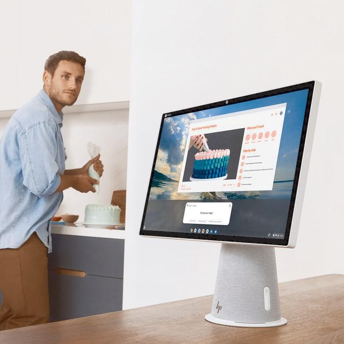 HP Chromebase 21.5 inch All-in-One