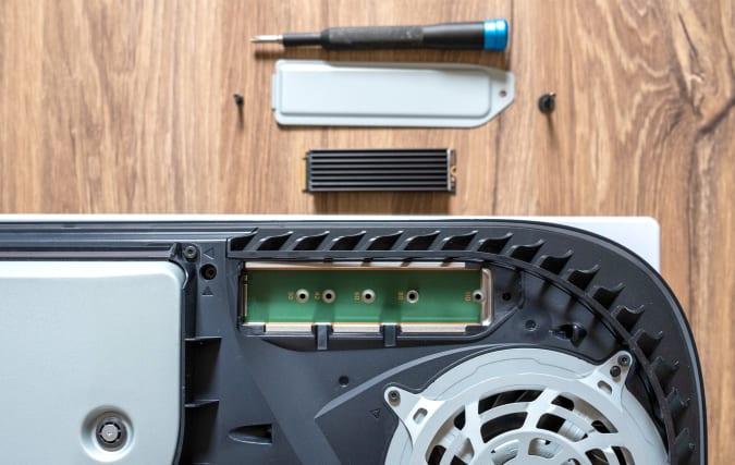 PlayStation 5 SSD slot
