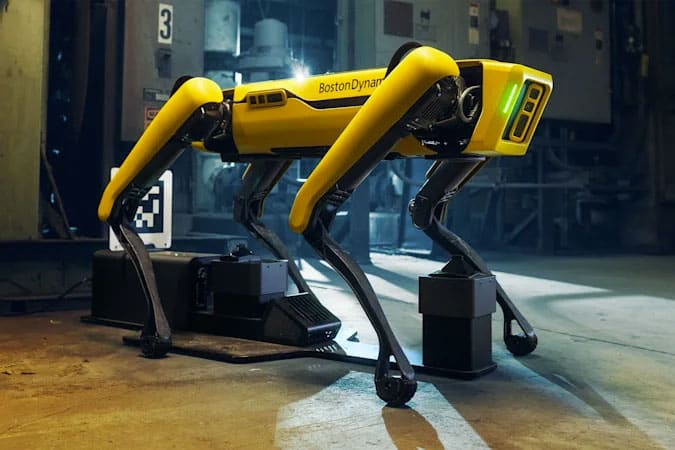 Image of Spot, the Boston Dynamics Robot