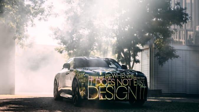 Rolls-Royce Spectre EV tease