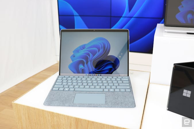 Surface Pro 8 hands-on